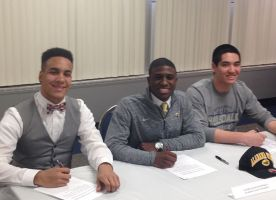 District 211 Schools Recognize Athletes on National Signing Day 2016
