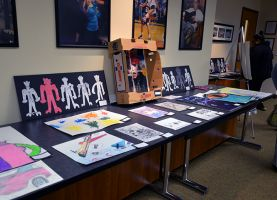 Annual Show Displays Academy-South, Academy-North, and New Endeavors Artwork