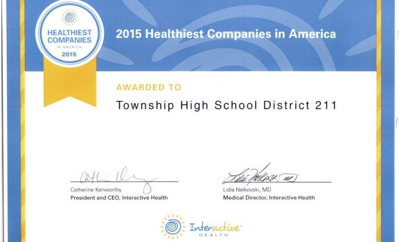District 211 Named One of the 154 Healthiest Companies in America