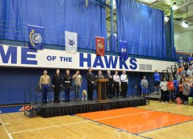 District 211 Students Honored Veterans on Veterans Day