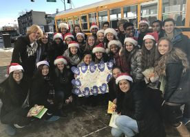FHS Students 'Grant Wishes' to Local Children During the Holidays