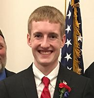 PHS Senior Aidan Busch Wins VFW Voice of Democracy Essay Contest