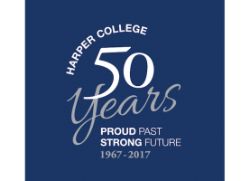 50th B-day Wishes to Harper College from Superintendent Cates & D211