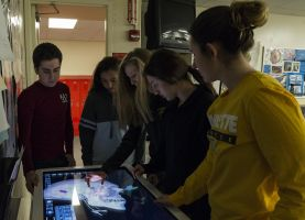 D211 Post: Anatomage Table Provides New Resource for Biology Students
