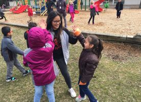 """D211 Post: Palatine HS students give a """"Day of Service"""""""
