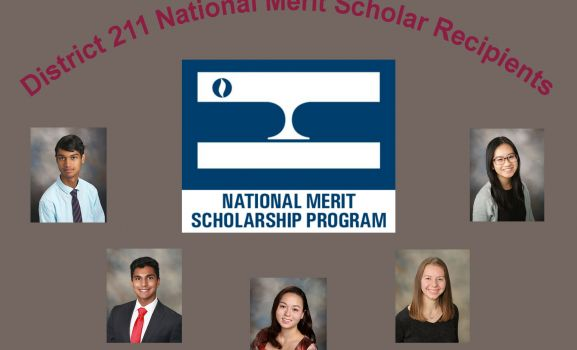D211 Post: 5 District 211 Students Receive National Merit Scholarships