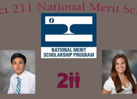 D211 Post: Four Students Listed in Latest Round of National Merit Scholarships