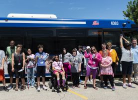 D211 Post: Hoffman Estates Students Get Lesson in Public Transportation