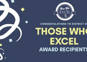 D211 Post: High School District 211 to be represented among I.S.B.E. 2018 Those Who Excel award recipients