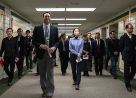 D211 Post: Chinese Educators Visit District 211