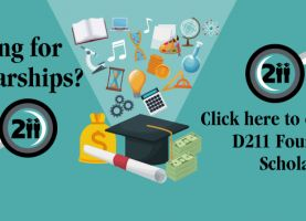 D211 Post: Time to Start Applying for College Scholarships