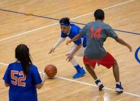 D211 Post: BASKETBALL TOURNAMENT HONORS LEGACY OF HOFFMAN SPECIAL EDUCATION STUDENT