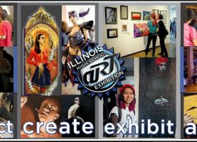 D211 Post: District 211 Art Students to Participate in Scholarship Art Show February 24