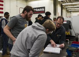 D211 Post: Swedish Educator and Students Visit PHS Applied Tech