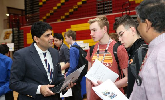 D211 Post: District 211 Career Expo Shows Growth in Second Year