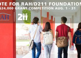 D211 Post: Realtors Against Homelessness Entered in Grant Competition