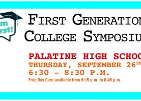 D211 Post: 5th Annual First-Generation College Symposium Set for Sept. 26