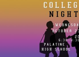 D211 Post: District 211 To Host Annual College Night October 23