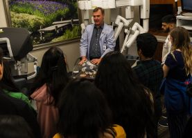 D211 Post: District 211 students explore the future of medicine