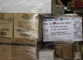 D211 Post: District Donates Medical Supplies