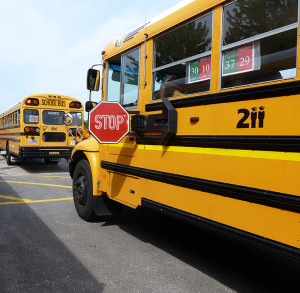 The District wants to remind the community that by taking an extra minute and obeying a school bus' stop arm and flashing lights, fewer students are at risk for injury during their commute.