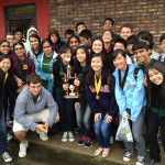 The entire Fremd Math Team poses after their state competition.