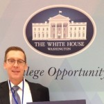 Superintendent Dan Cates at the White House College Opportunity Summit.