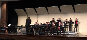 Fremd Jazz Ensemble performs at the Northshore Jazz Festival on Feb. 24.