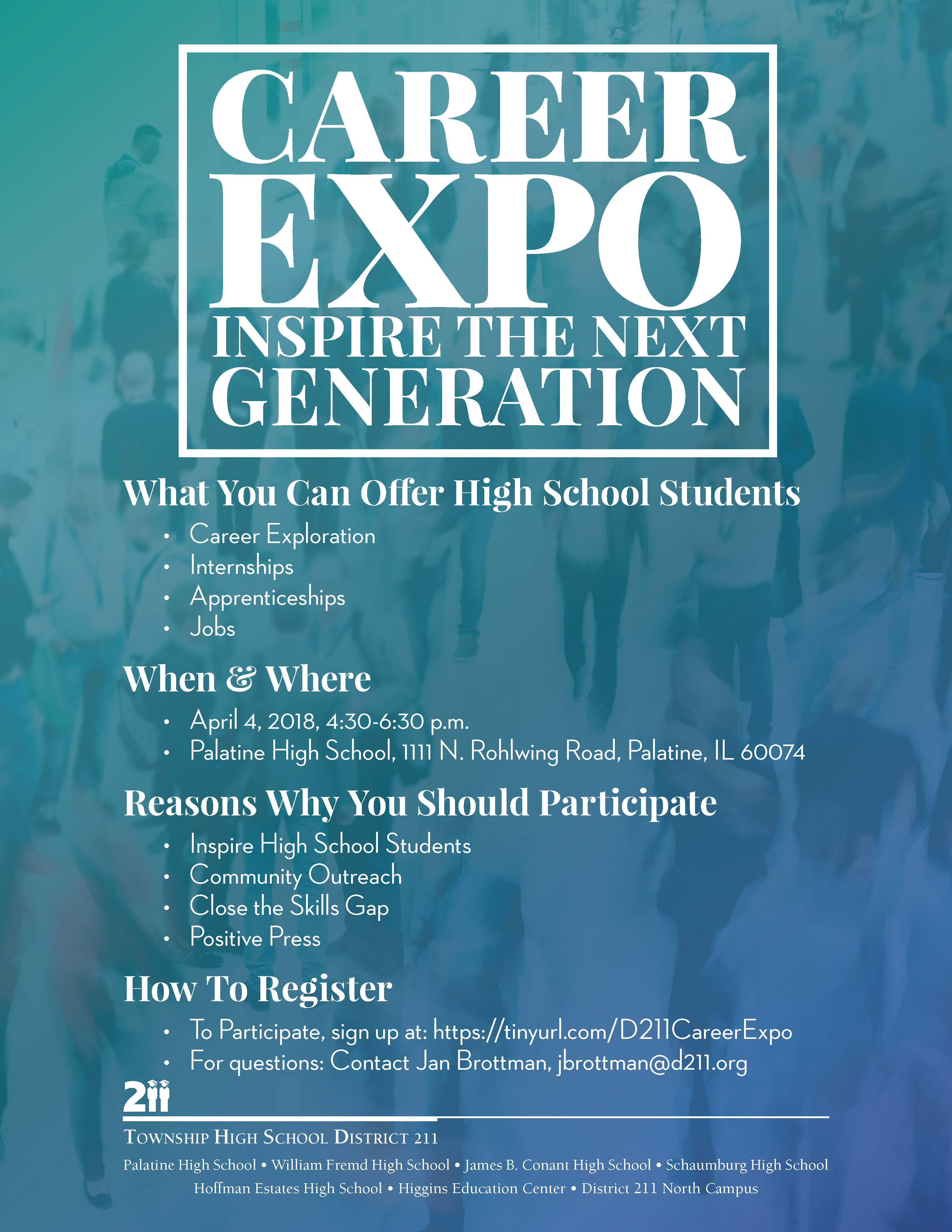 D211 Post | D211 Post: District 211 to Host Career Expo