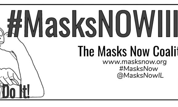 D211 Post: Schaumburg Student Named State Lead in Masks Now